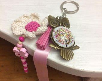Key ring, bag jewelry
