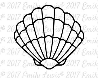 seashell SVG - seashell SVGs - seashell - shell svgs - shell svg - beach svg - ocean svg - summer svgs - summer svg - cricut - silhouette