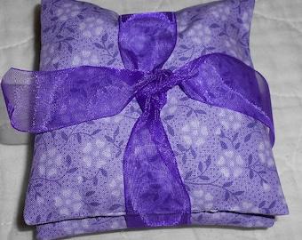 Set 3 Floral Lavender sachets