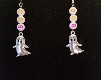 Ghost Halloween Earrings
