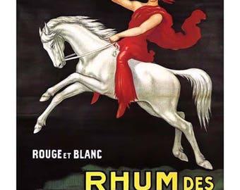 Rhum des Incas Vintage Advertising Poster Art - Vintage Print Art - Home Decor - French Advertising