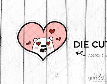 Love Barry! - Barry the Bear Diecut