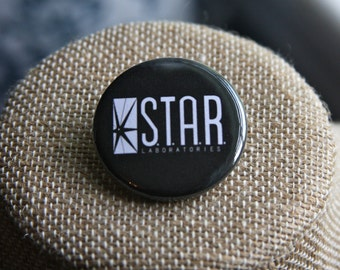 The Flash STAR Labs Button