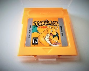 Pokemon Orange Nintendo Game Boy (GBC GBA) -(English Fan Translation) Gameboy Custom