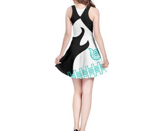 Midna Cosplay Dress - Skater Dress Twilight Princess Dress Legend of Zelda Dress Plus Size Dress Video Game Dress Hyrule Dress