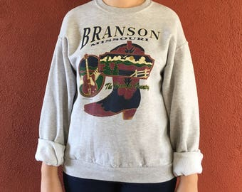 Vintage Branson Missouri Graphic Sweatshirt