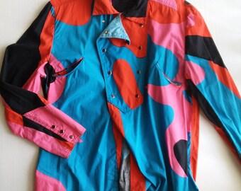 Vintage Western Men's Shirt, Vintage Rodeo Shirt, Western Shirt, Cowboy Shirt, Vintage Cowboy Shirt, Vintage Dress Shirt