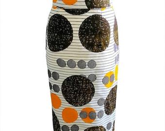 African clothing, african print skirt, ankara skirt, african print, wax print, african clothing, pencil skirt ( TONI pencil skirt)