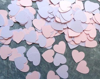 Cardstock Hearts Table Confetti Small Paper Heart Shaped Scatter for Wedding and Reception 430 Little Card Stock Hearts