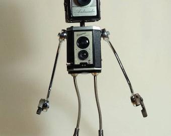 Box Camera Robot Desk Lamp