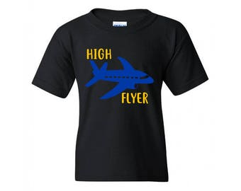 High Flyer T-Shirt, Kids-Adults, Choice of Color