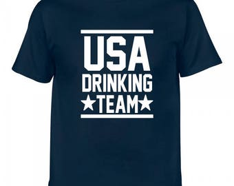 USA Drinking Team Fourth of July Tee