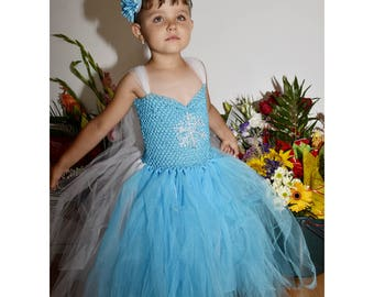 Frozen Dress, Elsa Dress, Pruncess Elsa Dress, Frozen Tutu Dress, Event Dress,  Birthday Dress, Party Dress, Frozen Girl Dress, Disney Dress