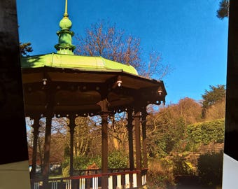 Belper Bandstand - Photographic Greeting Card