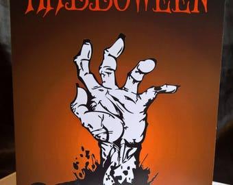 Zombie Hand - Halloween Greeting Card