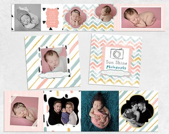 3x3 Mini Accordion Album Template - 3x3 Mini Millers Whcc