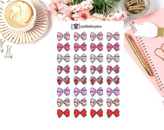 Bow Planner stickers