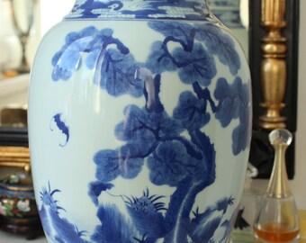 Exquisite Antique Vintage Chinese Porcelain Vase Qianlong Nian Zhi KANGXI PERIOD