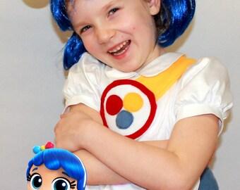 True costume / True and the rainbow kingdom costume / Rainbow kingdom / Girl costume/ True rainbow kingdom/ handmade Halloween costume