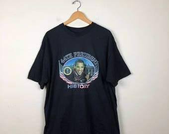 Vintage OBAMA  T-Shirt Size XL, Obama T Shirt