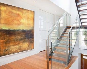Living Room Art, Large Acrylic Art, Painting Abstract, Original Large  Painting, Abstract