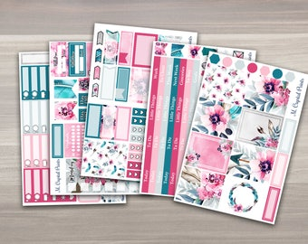 Feathers & Flowers Vertical Planner Kit || 5 Pages