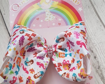 Big Boutique Mermaid Bow, Big Bow,