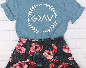 God Is Greater Than High's and Low's|Christian Shirt|Christian shirt for Women|Women's Jesus Shirt|Christian Shirts|Ladies faith shirt