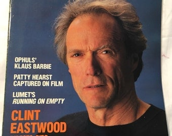 American Film magazine- Clint Eastwood- September 1988