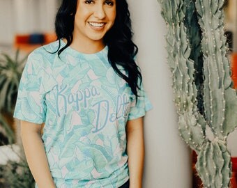 Kappa Delta Beverly Hills All-Over Tee