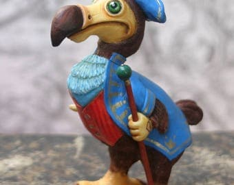 Dodo figurine / the Dodo/Alice's Adventures in Wonderland/Lewis Carroll/Alice in the Wonderland/Alice/art doll/Capt Dodo / doll/dodo bird