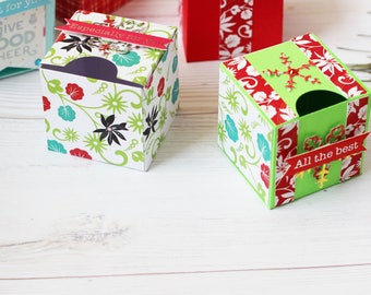 Add On~Gift Upgrade,Gift set,Favor Box,Stocking Stuffer,Paper Gift Box,Christmas Box 4-Pack,Treat favor boxes,Christmas Favors,Minnie boxes