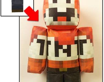 Custom Minecraft Plush Toy Using Any Player