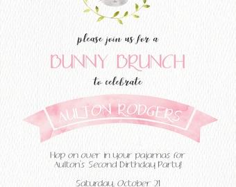 Bunny Brunch Birthday Party / Hop on over / Bunnies