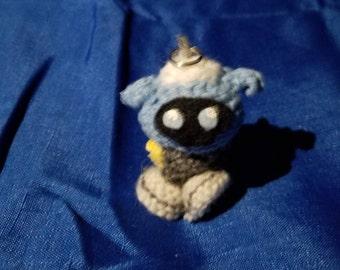 Overwatch Snowball Crochet Keychain
