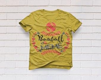 Baseball svg, Softball svg, Baseball meme svg, Baseball grandma svg, Baseball shirt svg, Cricut, Cameo, Clipart, Svg, DXF, Png, Pdf, Eps