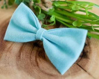 Nylon Headband - Itty Bitty Bow  - Hair Accessories - Girls Headband - Mini Hair Bow - Mint Green Hair Bow - Tiny Hairband - Baby Headband