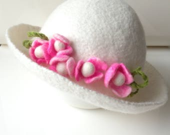 Hat Baby photography for girls