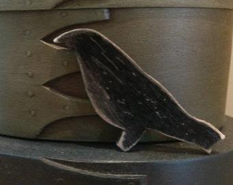 Primitive Bird Cutout (8 Count)