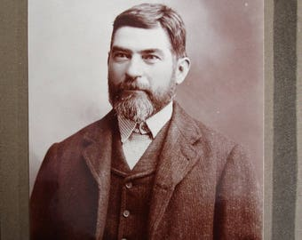 A CDV Photograph of an middle aged man in good condition .