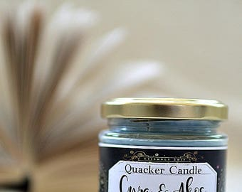 Cyra & Akos- soy candle inspired by book, bookish candle, book lover. book candle, literary candle, bibliophile, bookworm, book nerd