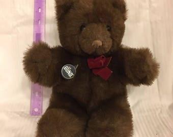 Gund Brown Teddy Bear