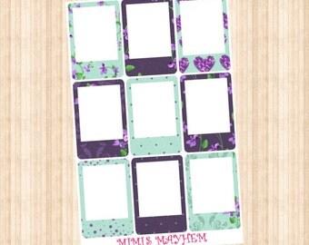 Violet FRAMES // Happy Planner // Erin Condren // Personal