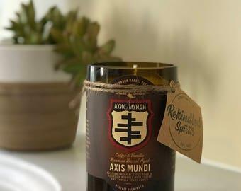 MadTree Brewing Axis Mundi Coffee & Vanilla Beer Candle