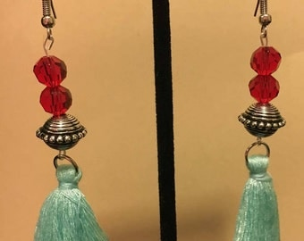 Small Hola Tassel Earrings