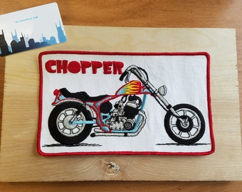 Chopper 1970s Vintage Motorcycle Patch