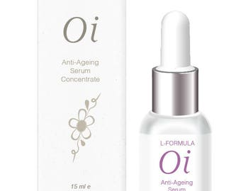 Oi Anti-ageing Serum Concentrate - made with 100% pure plant oils for intense hydration.