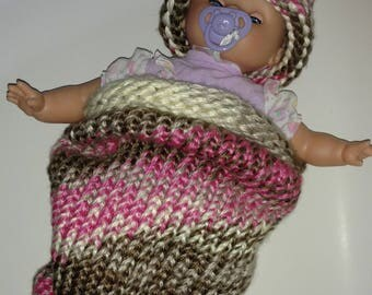Baby Hat and Cocoon - Infant Hat and Cocoon - Baby Cocoon - Baby Cacoon
