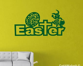 Easter writing, Wood Easter Decoration, Easter Wood Quote, Easter Quote painted