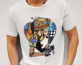 We Love Tank Girl White Men's T-shirt